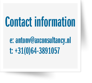 The contact information of Anton Venter
